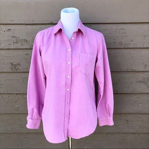 Fossil classic chambray pink oxford!